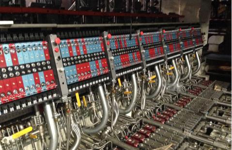 26 Section Glass Bottle Manufacturing Valve Blocks