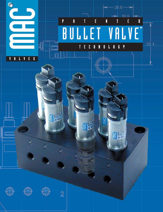 Bullet Valve Catalogue Cover