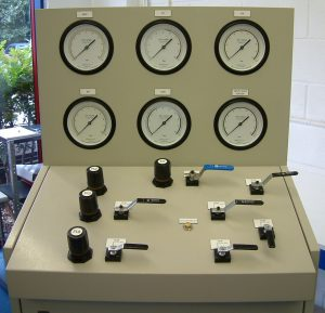 Calibrated test panel