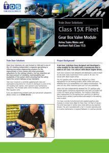 TDS Class 15X Gearbox Module Brochure