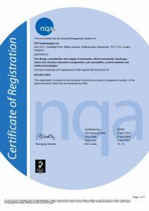 NQA ISO9001:2015 Quality Certificate