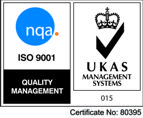 ISO9001:2015 Quality Logo