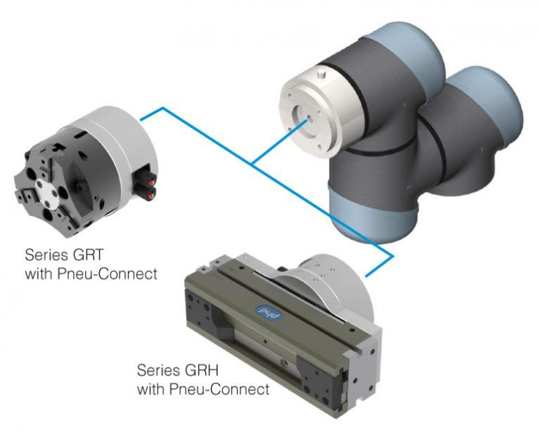 PHD Pneu-Connect for Collaborative Robots