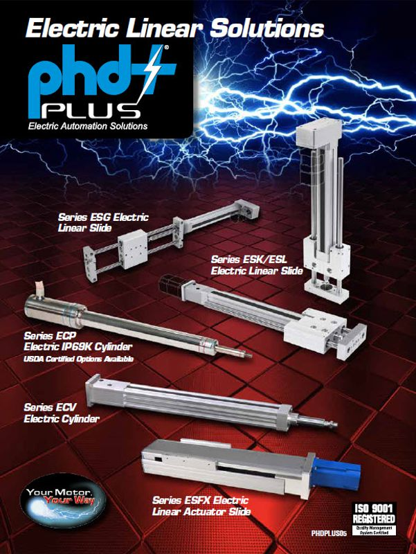PHD Plus Electric Actuator Brochure
