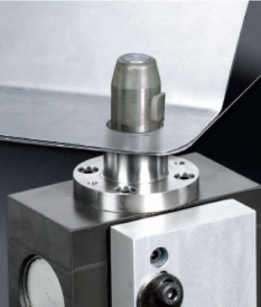 PHD PLK Pin Clamp with workpiece