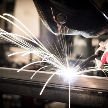Cobots in dangerous environments like welding